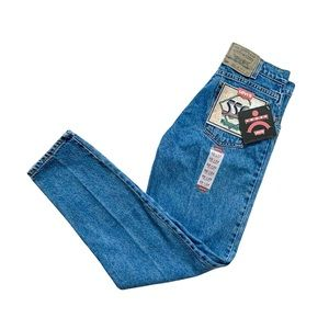 Vintage Levi's ORANGE TAB 550 Tapered Leg High Waisted Jeans | 1990s DEADSTOCK
